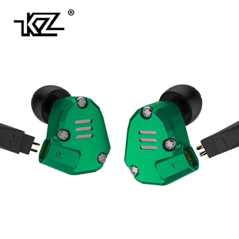 KZ ZS6 2BA + 2DD Hybride Lecteur Dans L'oreille Écouteurs HIFI Casque Avec 2PIN Remplacement Câble Sport EarphoneKZ ED16/ ES4 KZ ZS10 KZ AS10