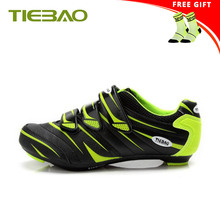 TIEBAO road bike cycling shoes 2019 bicycle sapatilha ciclismo self-locking breathable Athletic bicicleta superstar sneakers sidebike cycling shoes road men carbon sapatilha ciclismo mtb bike shoes zapatos bicicleta sneakers self locking white 2019 new