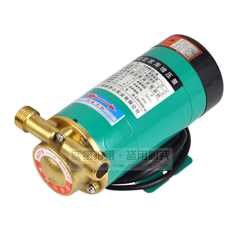 цена CE Approved Household Booster Pump 12WG-8 Copper structure,water heater increase pressure,cooling circulation,flesh oxygen