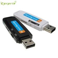 CARPRIE хорошее качество мини USB цифровая ручка аудио диктофон 8 ГБ флеш-накопитель u-диск Прямая поставка