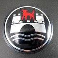 4 unids Alemania Calidad Para VW WOLFSBURG modificación Logo del CENTRO de RUEDA CAPSULA 65mm 3B7601171