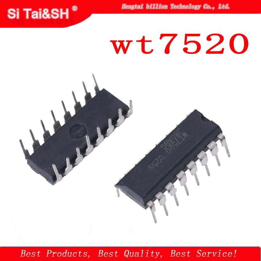 5pcs WT7520 DIP-16P New Power Management IC