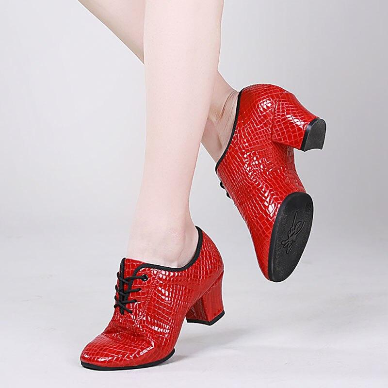 USHINE BD90 qualité talon 5 cm pierre douce motif Fitness ChaCha professeur BD salle de bal Latin Ballet danse chaussures femme