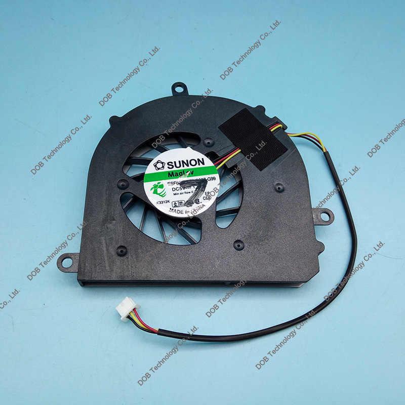 مروحة التبريد ل ينوفو ideapad u450 u450a AB0605HX-QB3 KSB0505HA-9E82 cpu fan