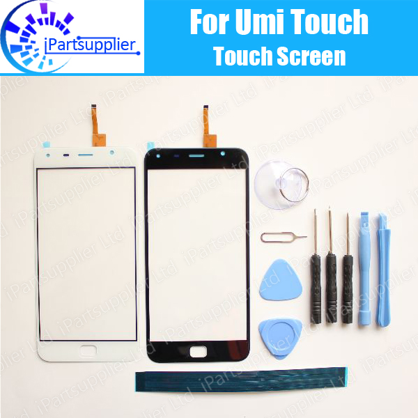 UMI Touch/Touch X Digitizer Touch Screen 100% Guarantee Original Glass Panel Touch Screen Digitizer For UMI Touch+tools+Adhesive