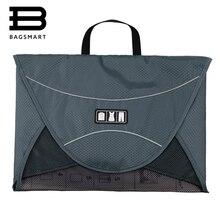 """BAGSMART 17 """"мужские дорожные сумки с ручкой для 1-5 шт. рубашки багажа Упаковка Cube организовать ваши чемодан чехол"""