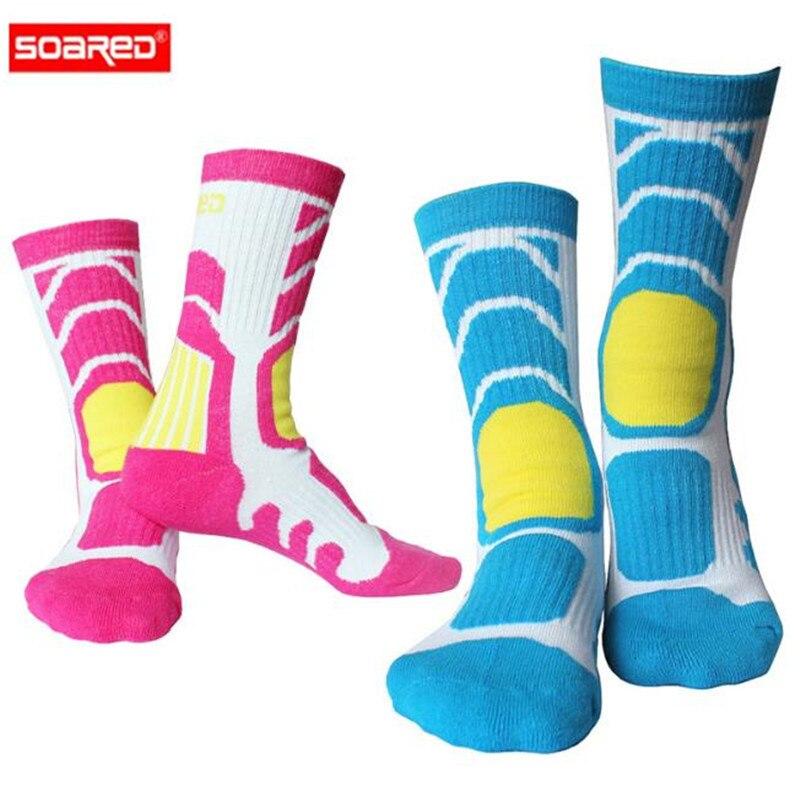 SOARED Winter Ski Socks Kids Snowboard Cycling Socks Super Warm Thick Skiing Socks Boys and Girls Outdoor Sport Socks