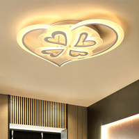 Modern Kids Room LED Ceiling Lights AC85 260V Creative Heart Type Lampara De Techo Decoration Lighting