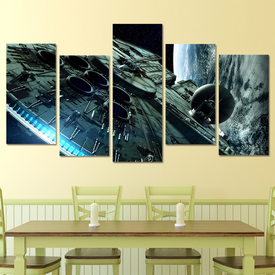 Fantastic Star Wars Wall Decorations Pictures - Wall Art Collections ...