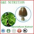 Icariin GMP super qualidade/epimedium extrair/extrato de erva daninha horny da cabra extrato 20:1 700g