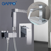 GAPPO Basin Faucets bath basin sink faucet mixer water taps bathroom muslim shower bidet sprayer nozzle hygiene