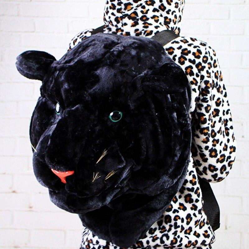 Image 5 - 2020 New Cool HUGE Luxury Tiger Head White Tiger Girl school bag Fashion Luxury Style Bag Women Knapsack Backpack Boy Tiger Bagstiger bagbackpack fashionfashion backpack -
