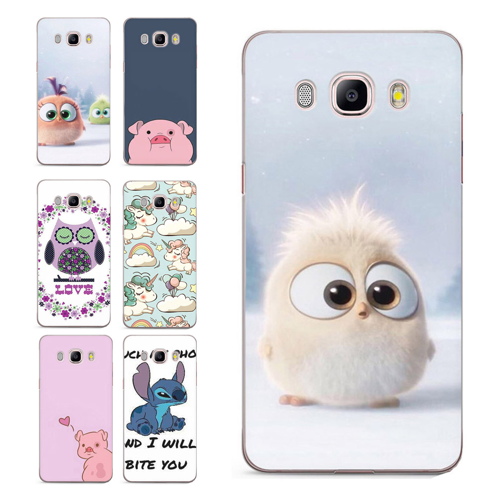 For Samsung Galaxy A3 A5 2016 2015 2017 prime J1 J2 J3 Painted Cute Pattern Clear Soft TPU Silicone Case C008