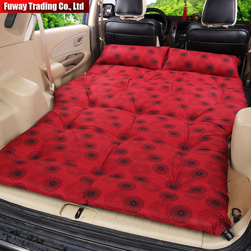 Automatic Inflatable Car Back Seat Cover Car Air Mattress
