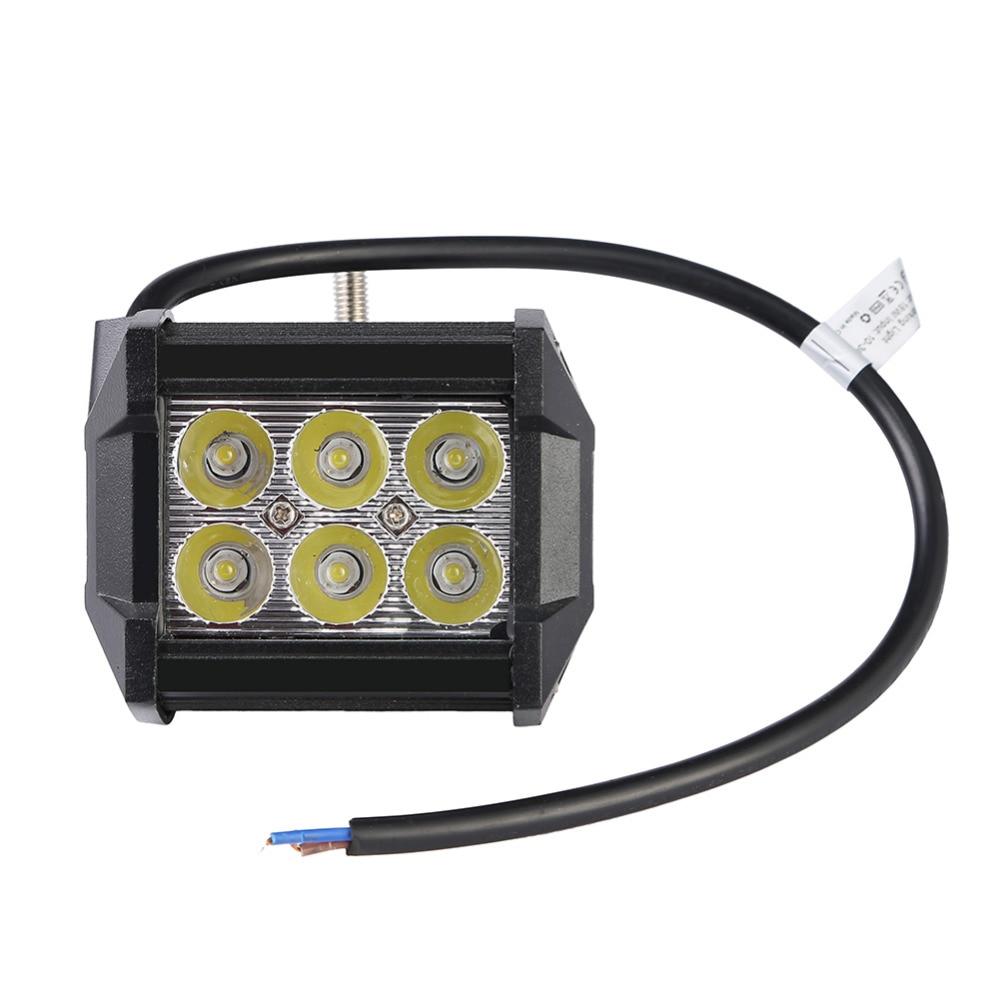 GERUITE 4 tommer 18W Spotlight IP65 LED arbeidslys for indikatorer Motorcycle Offroad Båtbil Traktor Lastebil SUV 12V-30V