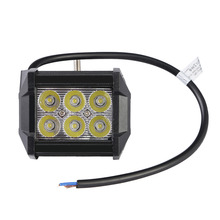 GERUITE 4 Inch 18W Spotlight IP65 LED Work Light Bar for Indicators Motorcycle Offroad Boat Car Tractor Truck SUV 12V-30V