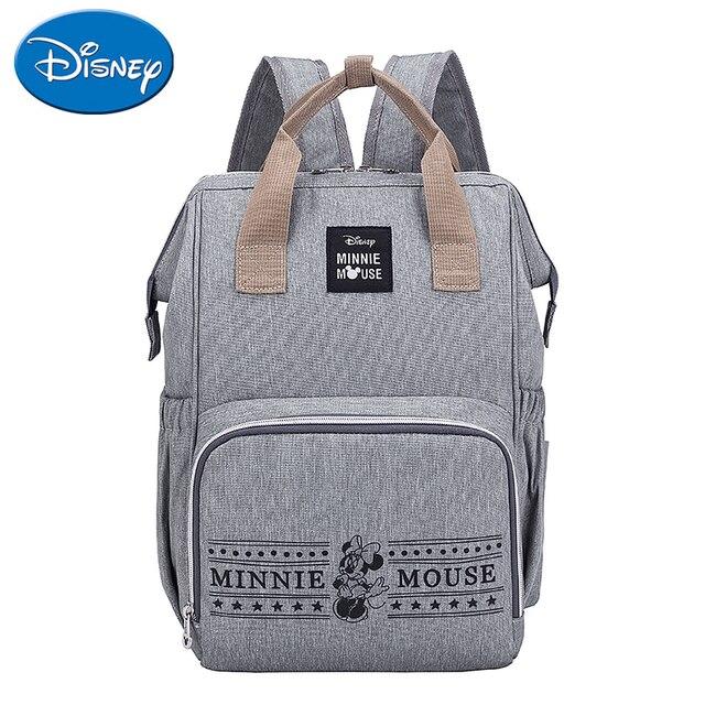 Disney Mummy Backpack Baby Bag Large Capacity Maternity Bag Diaper Baby Bag Multifunctional Nursing Bag Backpack Baby Care | Happy Baby Mama