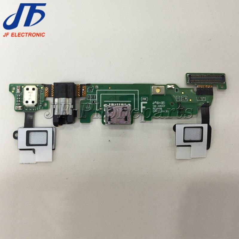 100 шт./лот Audio Jack Flex ленты кабель + USB Зарядное устройство charging Dock Порты и разъёмы для Samsung Galaxy A8 a800f A8000 Сенсор клавиатуры