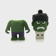Pendrive Usb Flash Drive Pen Drive Memory Stick Super Hero 2.0 64GB 32GB 16G 8GB 4GB