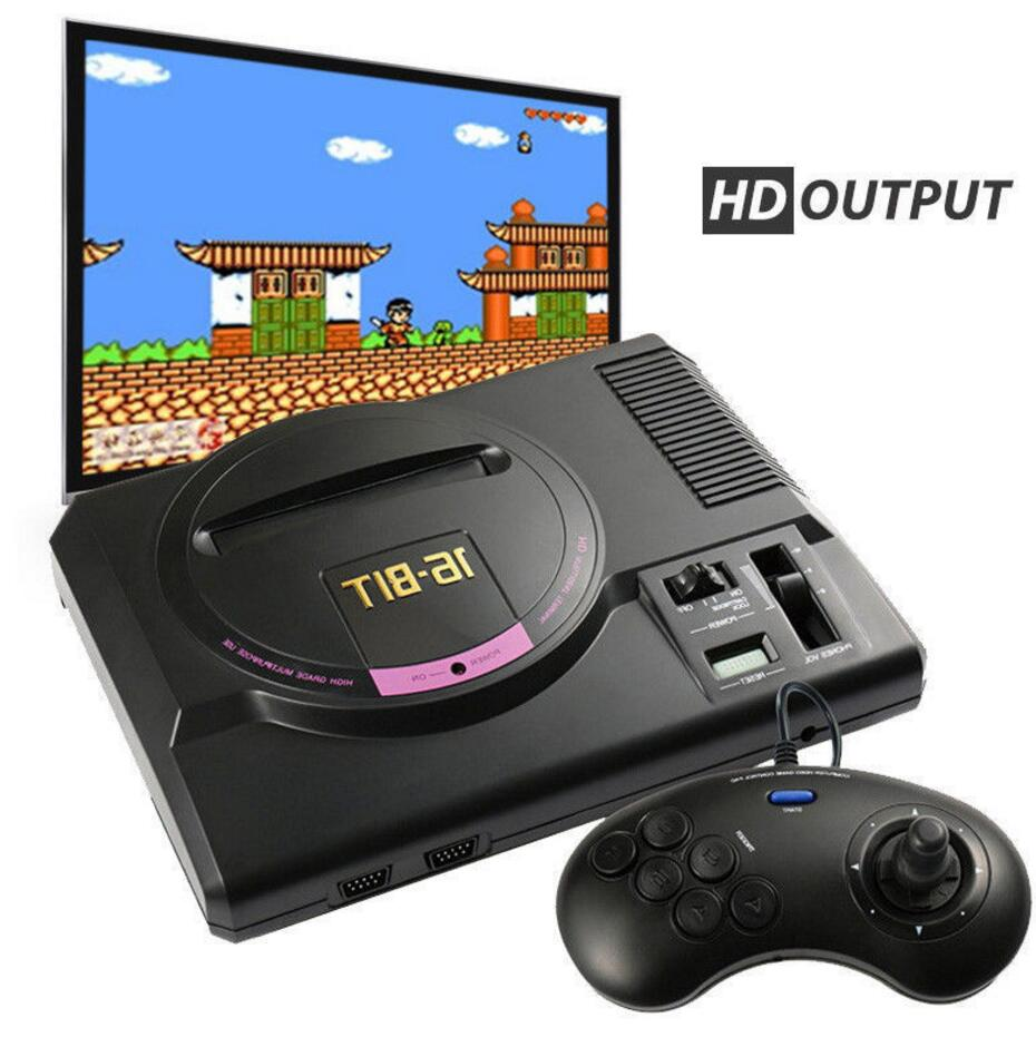 Mini TV Game HDMI AV version for sega 16 bit  video game player for sega megadrive game console support 4K TV sega