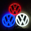 4D led car logo badge light for Volkswagen vw Golf 1 2 3 4 5 6 7 mk2 mk4 mk5 mk6 mk7 Golf Gti Jetta