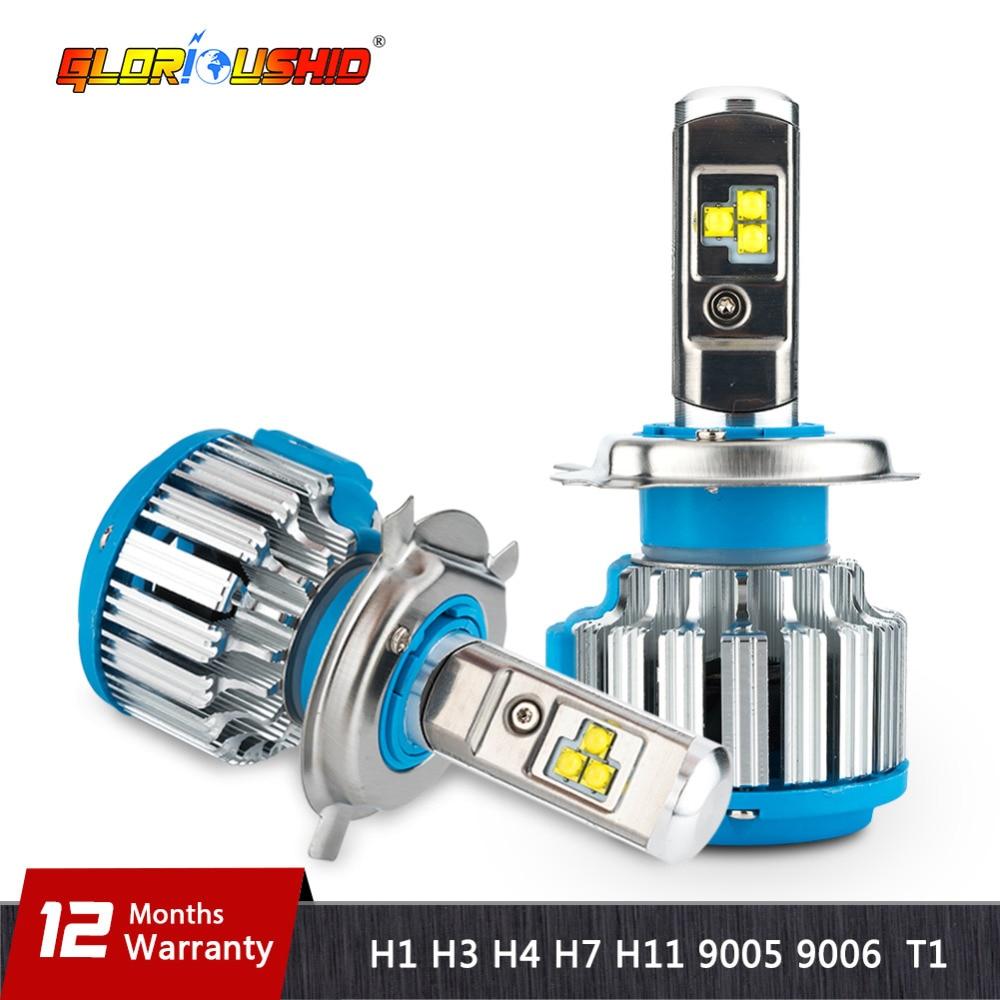 H7 LED H4 H1 H3 H11 H8 H9 9005 9006 HB4 70 watt 7000lm Auto Scheinwerfer Vorne Nebel Glühbirne autos Scheinwerfer 6000 karat Auto Beleuchtung