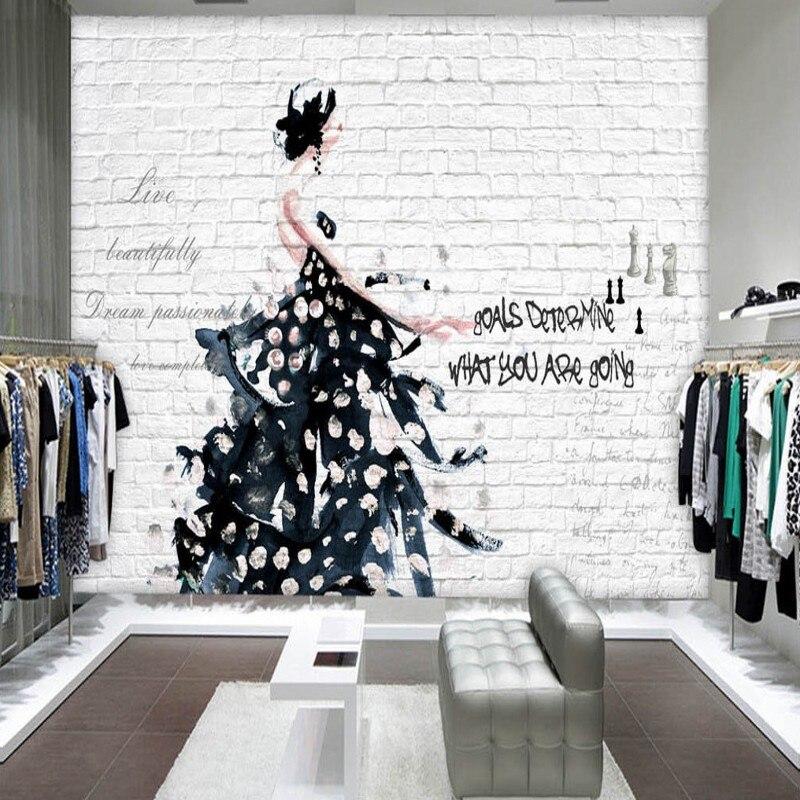 Постер магазин одежды