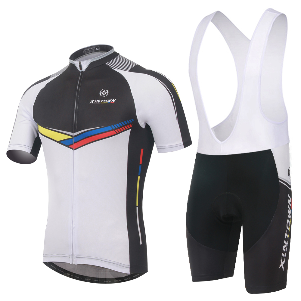 Prix pour 2017 Mans Pro Cycling Jersey Set VTT Vélo vélo sportwear Rock racing vélo vêtements cyclisme uniforme Ropa Cyclisme Vêtements