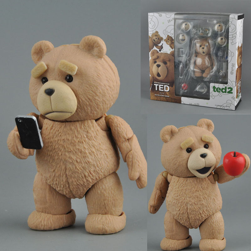 Best For Child Vogue Ted 2 Funny Bear Complex Series 006 Cool Mark Wahlberg Comedy Film Action Figure Toys image