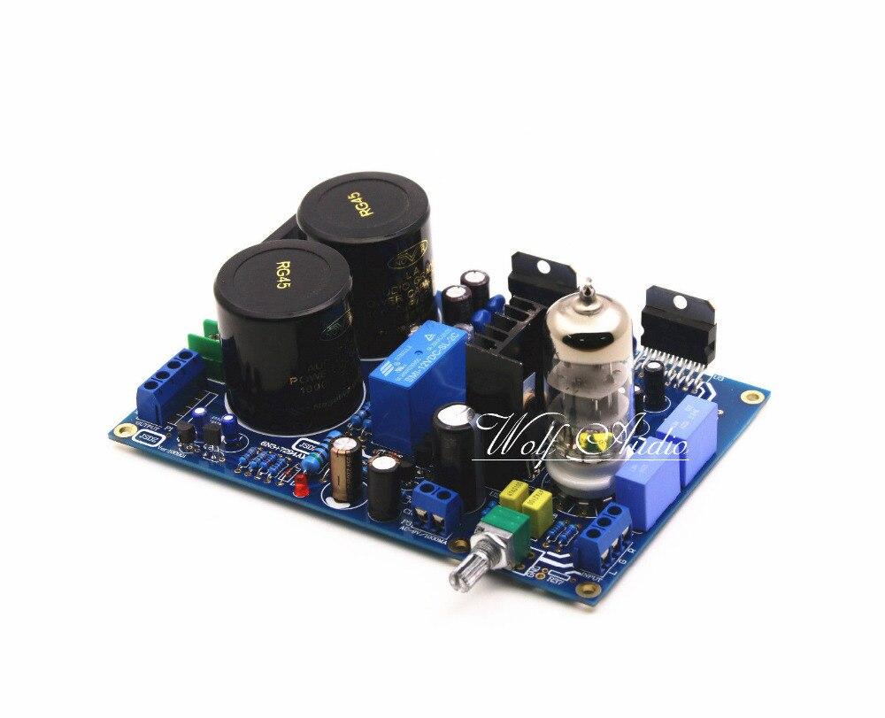 Diy Hifi Tube 6n3 Preamp Tda7294 Power Amplifier Kit 80w 200w Simple Audio Circuit Using Pre Board