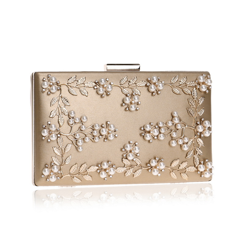 Beaded Clutch Purse Shoulder Bag