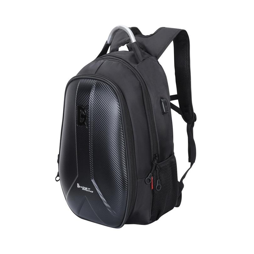 GHOST RACING mochila para moto Motorcycle riding backpack men's helmet hard shell backpack locomotive travel computer bag