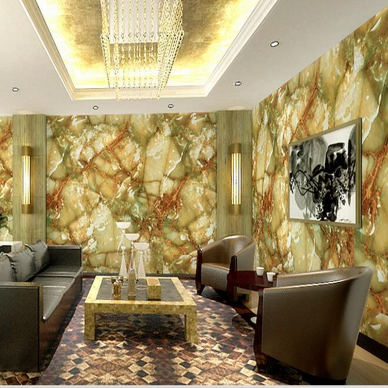 beibehang classical American country in Southeast Asia bird teahouse non-woven wallpaper wallpaper living room bedroom wallpaper