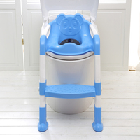 Folding Baby Potty Infant Kids Toilet Training Seat with Adjustable Ladder Portable Urinal Potty Training Seats for Children kid