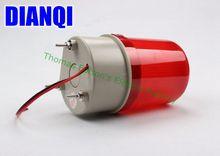 DC12V/24 В красный желтый и зеленый цвета синий вращающийся Предупреждение свет лампы Предупреждение Свет Маяка для промышленного lte-1101j освещения с зуммер