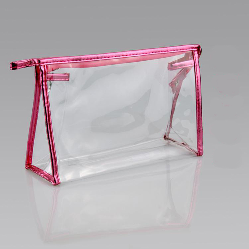 Waterproof Pvc Makeup Cosmetics Bag Clear Transpa Travel Storage Box S Women Make Up Pouch Vanity Case Candy Colors In Nets From Automobiles