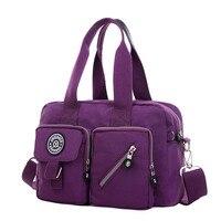 JINQIAOER Waterproof Nylon Shoulder Bag Messenger Womens Bag Handbags Factory Direct Bags For Ladies Female Bolsa