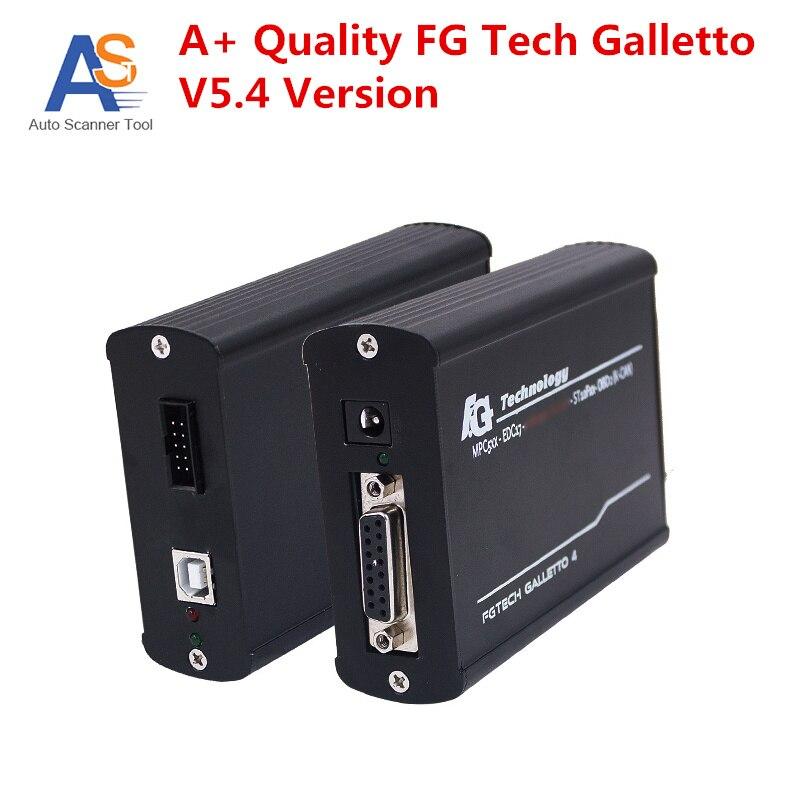 Цена за Новинка 2017 года версия V5.4 fg tech Galletto мастер с BDM-OBD функции FGTECH V54 ECU Flasher легко работать с несколькими Langauges