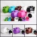 Винтаж Кожа Камера Сумка для Samsung NX3000 NX-3000 Крышка Камеры С Плеча Ремень ПУ Кожаный чехол для Камеры Новый