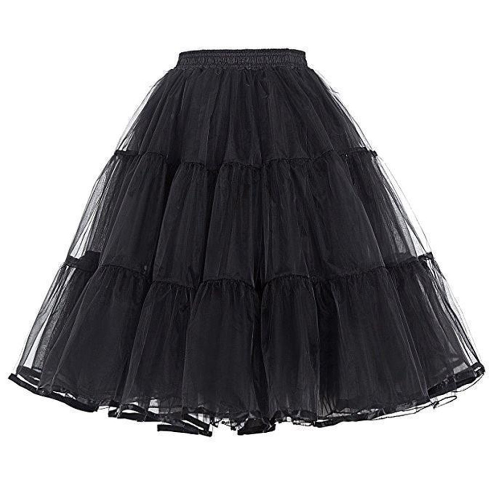 2019 Tulle Short Cheap Woman Wedding Petticoat Underskirt Crinoline Wedding Accessories Bridal Petticoat Jupon Marriage New