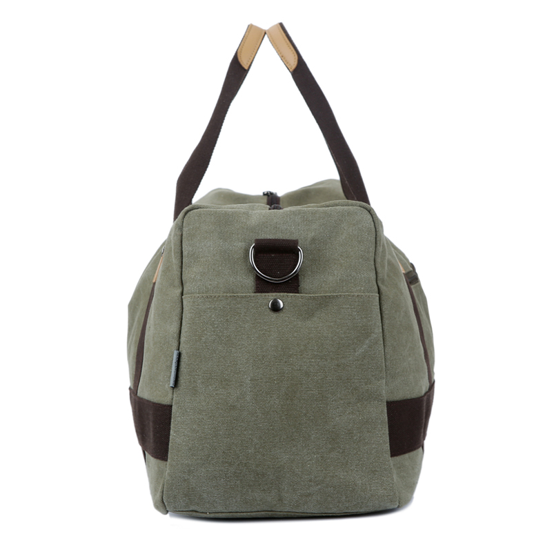 Vintage canvas men travel bags women weekend carry on luggage   bags  leisure duffle bag large capacity tote business bolso-in Travel Bags from  Luggage ... 11679d6442f34