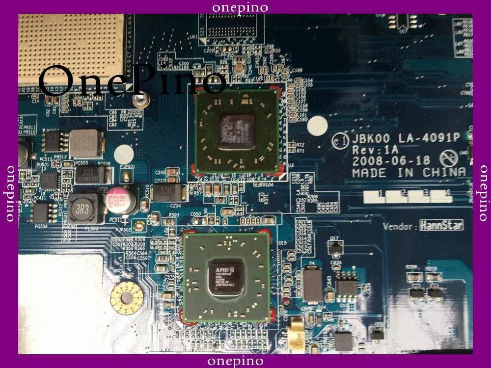 送料無料でcpu 506124-001 hp DV7 DV7-1100 ノートパソコンのマザーボードLA-4091Pシステムボード完全にテスト作業
