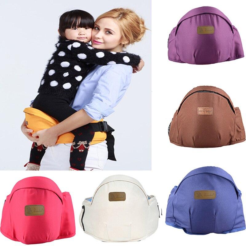 Baby Waist Stool Babies Carrier Bag Polyester Cotton Grape Purple Sling Belt Kids Infant Hold HipSeat Front Holder Wrap