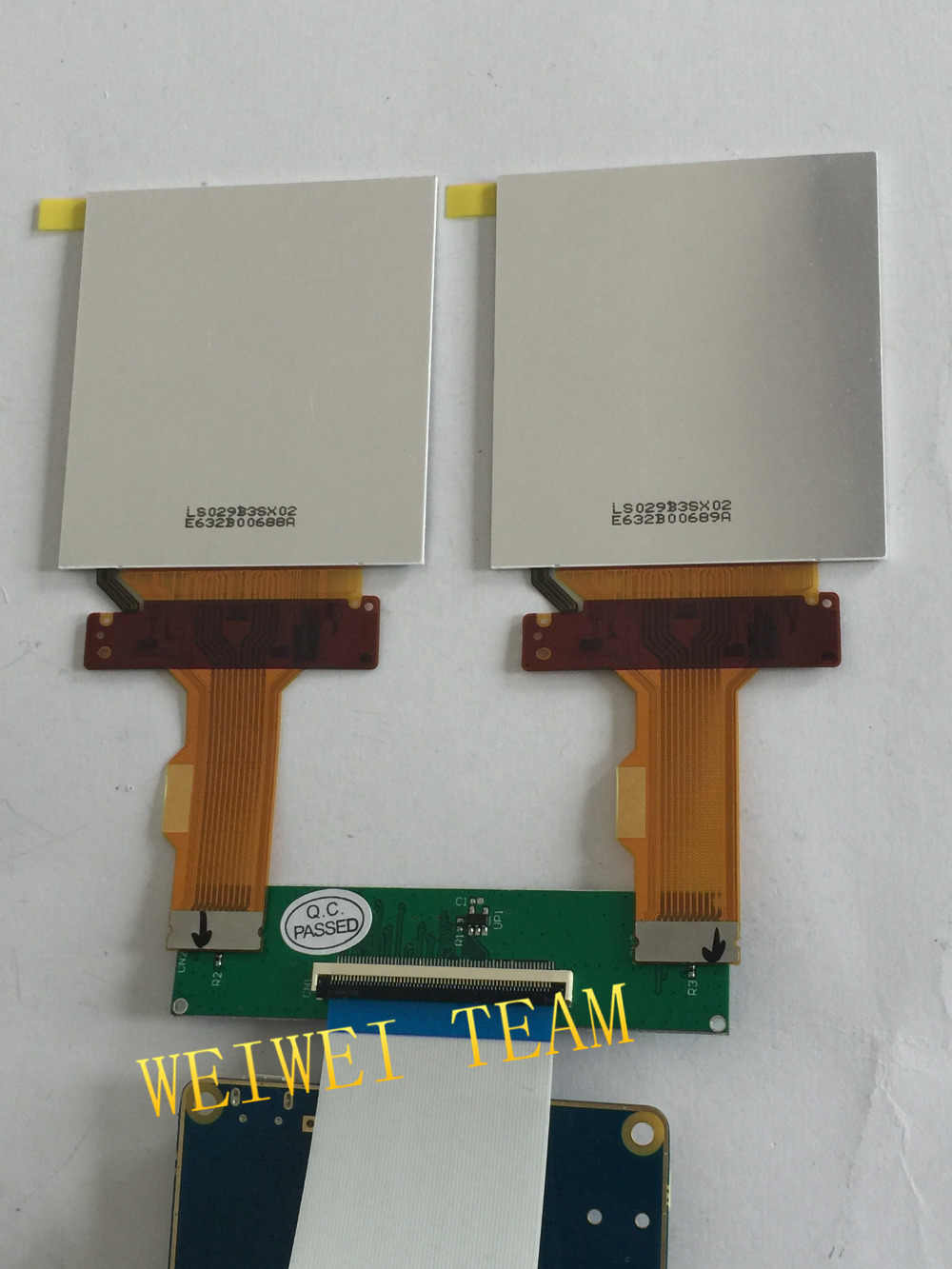2 9'' 2880*1440 2K TFT LCD MIPI screen with HDMI to MIPI Dsi driver board  for VR AR project