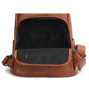 Image 5 - POMELOS Backpack Female Designer New Women PU Leather Backpack Anti Theft High Quality Soft Back Pack Backpacks School Bags
