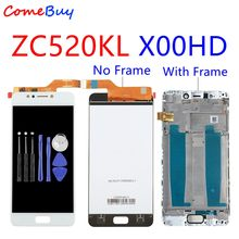 "Para 5.2 ""Asus ZC520KL Display LCD Touch Screen Digitador Para ASUS ZenFone 4 MAX X00HD ZC520KL LCD Com Quadro substituição da tela(China)"