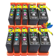 10 compatibel 100xl 105xl 108xl inktcartridge voor lexmark interpreteren S402 S405 Interact S502 S505 S605 Impact S300 S301 S302 S305(China)