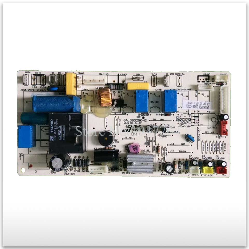 95% new & original for Galanz air conditioning Computer board control board GAL0932GK-01 used 95% new used original for air conditioning control board 2p087379 1 2 3 rx35lv1c computer board motherboard