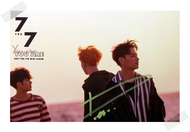 signed GOT7 GOT 7 JB  autographed photo  7 FOR 7 6 inches free shipping 102017C got7 got 7 youngjae kim yugyeom autographed signed photo flight log arrival 6 inches new korean freeshipping 03 2017