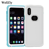 for iphone 7 plus case waterproof phone case Building Construction Forest logging Protective shell for iphone 8 case More ix i7